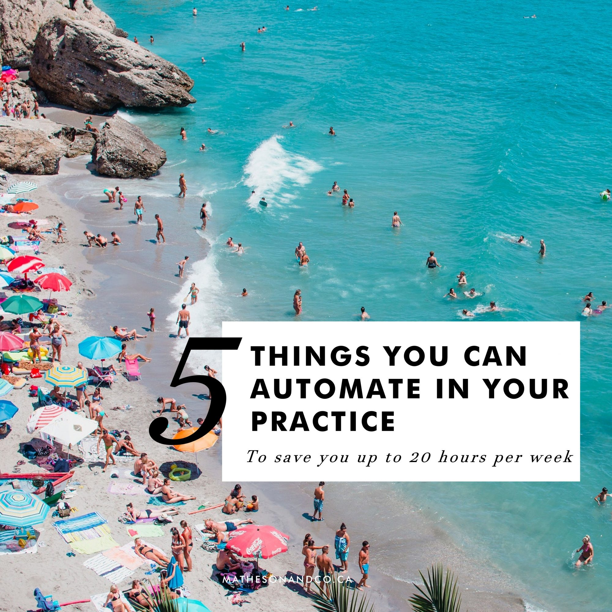 5 things you can automate in your practice