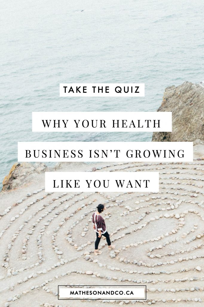 why your health business isn't growing like you want
