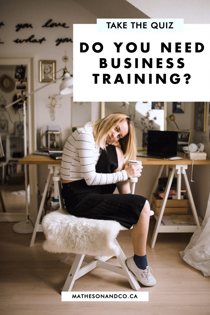 QUIZ: Do you need business training?
