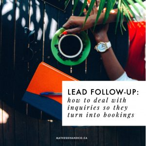 perfect your lead follow-up