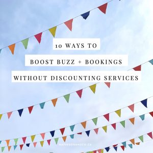 10 Fast-action promotions to boost buzz and bookings without discounting your services