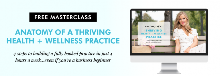 anatomy of a thriving health and wellness practice