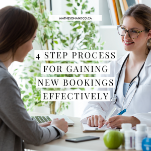4 Step Process For Gaining New Bookings Effectively (updated)