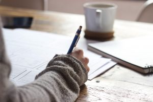How to Creatively Find Your Ideal Clients Blog Image - Writing